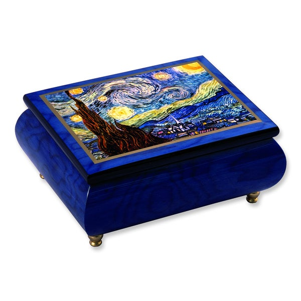 Versil Van Gogh 'Starry Night' Masterpiece Music Box