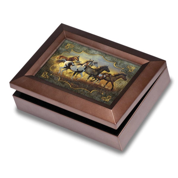 Versil Sounds of Nature Horse Keepsake Box