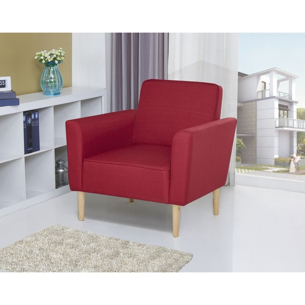Carlsbad Red Arm Chair