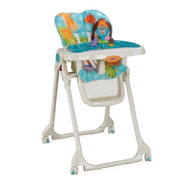 Fisher Price Precious Planet Blue Sky Steel High Chair