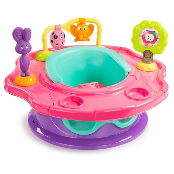 Summer Infant 3-Stage Superseat in Pink Forest Friends 19106418
