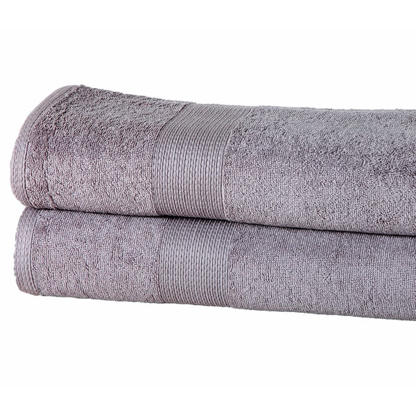 Bath Sheets Oversized: Casa Platino Solid-colored Cotton 550 GSM Oversized Bath