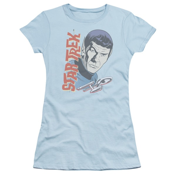 Star Trek/Vintage Spock Junior Sheer in Light Blue