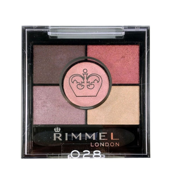 Rimmel London Glam Eyes HD 5 Color Eyeshadow 028 Burgundy Palace