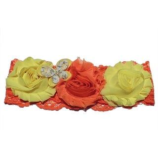 Shabby Chic Butterfly Headband