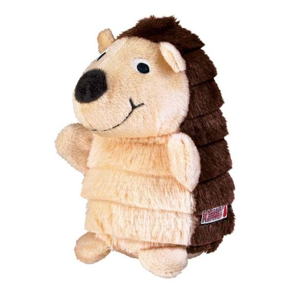 Kong Layerz Brown Fabric Hedgehog Dog Toy