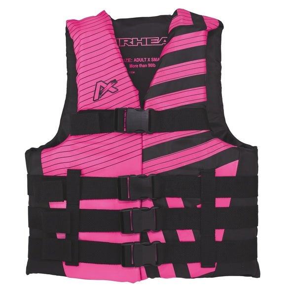 Airhead Trend Women's Pink/Black Closed Side Life Vest