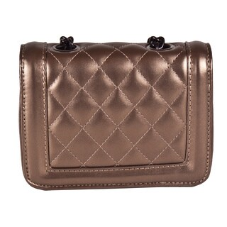 Ann Simone 'Pixy' Quilted Vegan Leather Mini Clutch