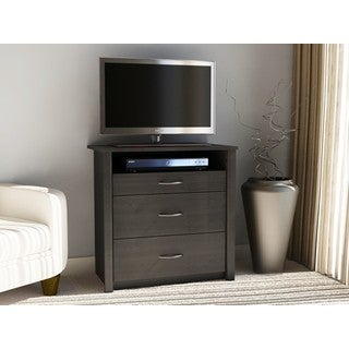 Altra Julian Black Ebony Ash Media Dresser