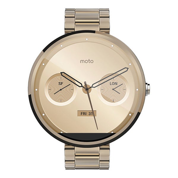 Motorola Moto 360 Certified Refurbished SmartWatch