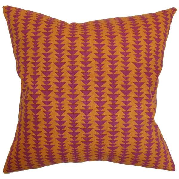 Jiri Geometric Throw Pillow Cover