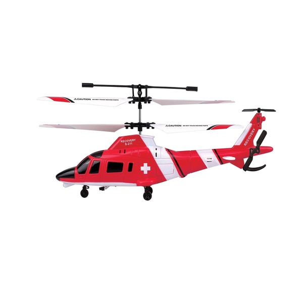 Swift Stream S-211 Red Remote Control Recovery Helicopter