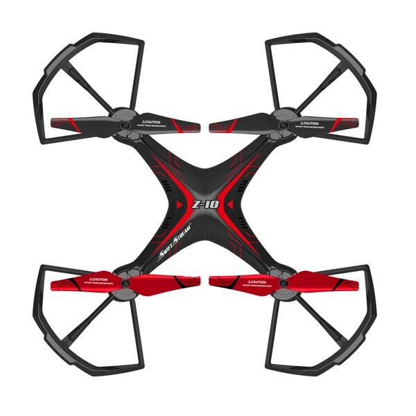 Swift Stream Z-10 Red/Black Remote Control Camera Drone