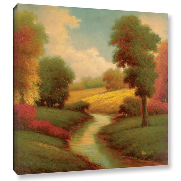 Pierre's 'Ancienne Riviere I' Gallery Wrapped Canvas