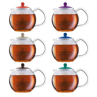 Bodum Asssam Assorted Color 34-ounce Tea Press