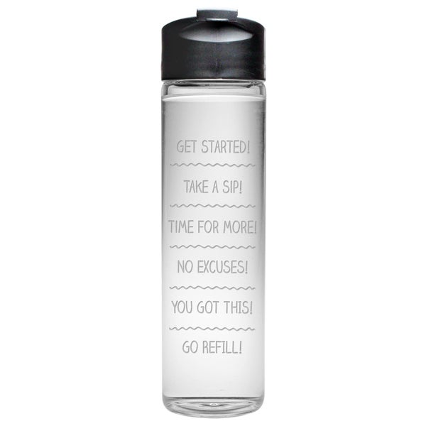 Drink Schedule Travel Water Bottle