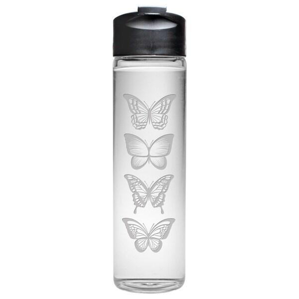 Butterflies Travel Water Bottle