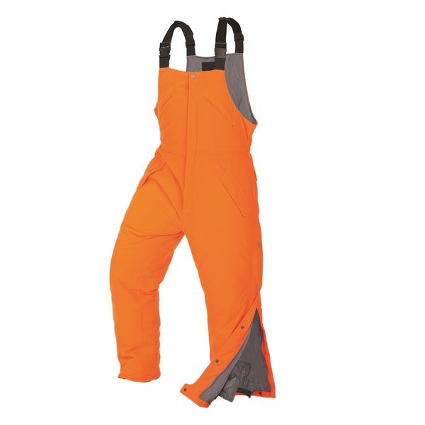 ArcticShield Green/Orange Suede Waterproof Windproof Performance Fit Bib