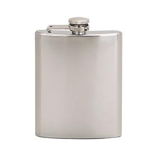 Elegance 6 oz Flask Bright Polished