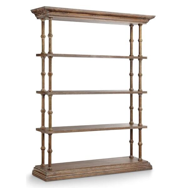 Whistler Medium Brown Bookcase