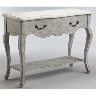 Dedra Grey Accent Console