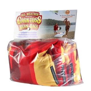 Corn Toss Camo Orange/Yellow Bean Bags