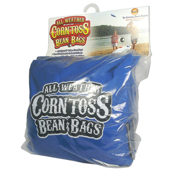 All Weather Corntoss Blue Bean Bags