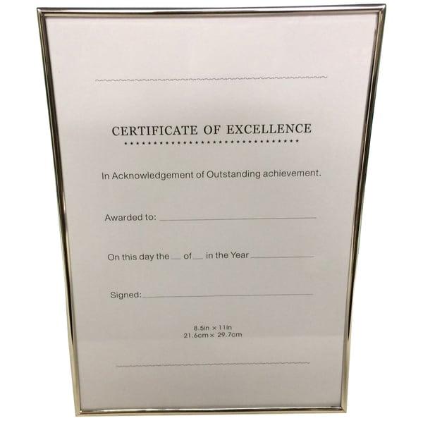 Elegance Certificate Frame