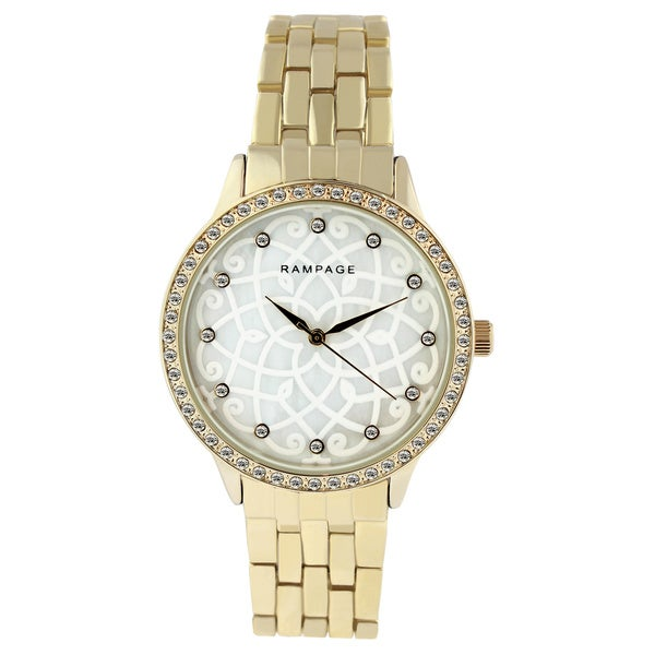Rampage Ladies' RP1129 Gold Bracelet Watch