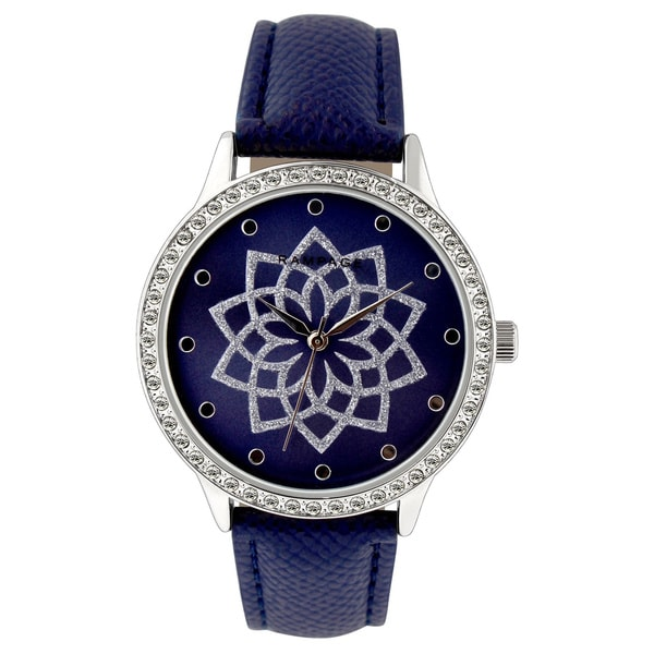 Rampage Ladies RP1119SLNV Navy Strap Watch