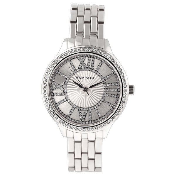 Rampage Ladies' RP1108SL Silver Bracelet Watch
