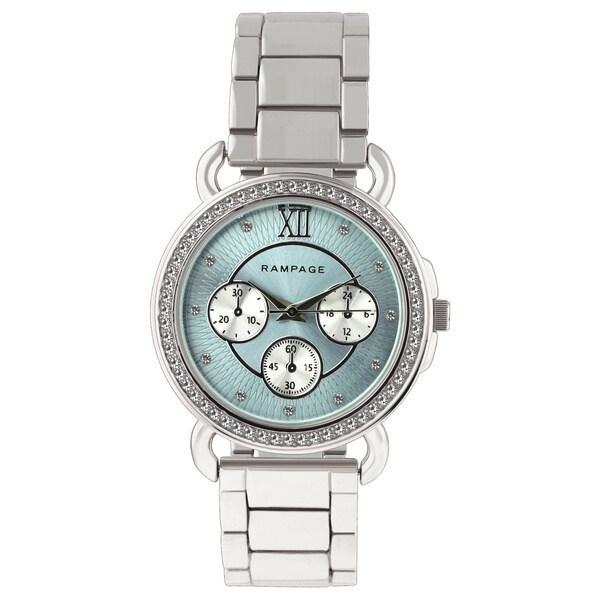 Rampage Ladies RP1111SLLB Silver Bracelet Watch