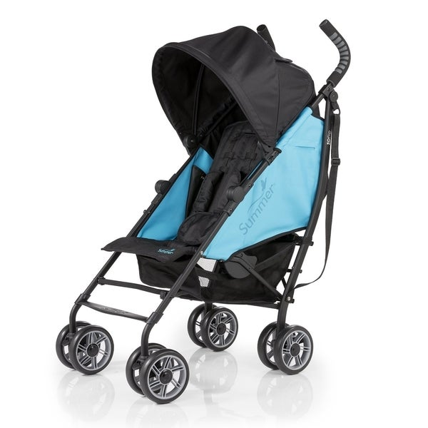 Summer Infant 3D Flip Totally Teal/Black Metal Convenience Stroller