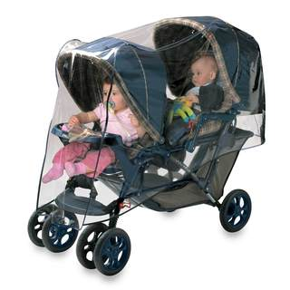 Jolly Jumper Clear Plastic Tandem And Travel System Weather Shield