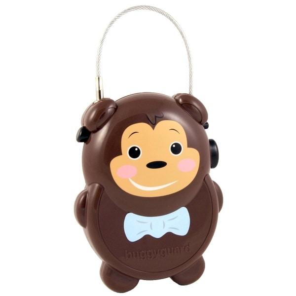 Buggygear Rainforest Monkey Brown Plastic Retractable Stroller Lock