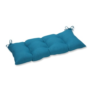 Pillow Perfect Outdoor/ Indoor Rave Peacock Swing/Bench Cushion