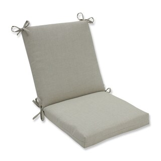 Pillow Perfect Outdoor/ Indoor Rave Driftwood Squared Corners Chair Cushion