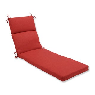 Pillow Perfect Outdoor/ Indoor Rave Flame Chaise Lounge Cushion