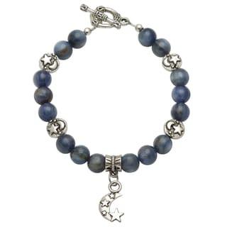 Healing Stones for You Blue Kyanite Celestial Bracelet