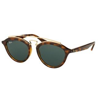 Ray-Ban RB 4257 710/71 Gatsby II Havana Plastic Green Lens Fashion Sunglasses