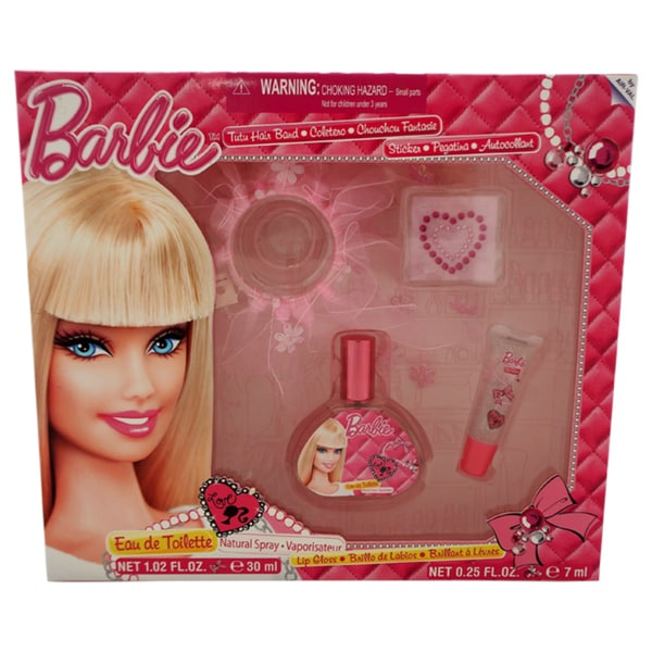 Barbie for Kids 4-piece Gift Set