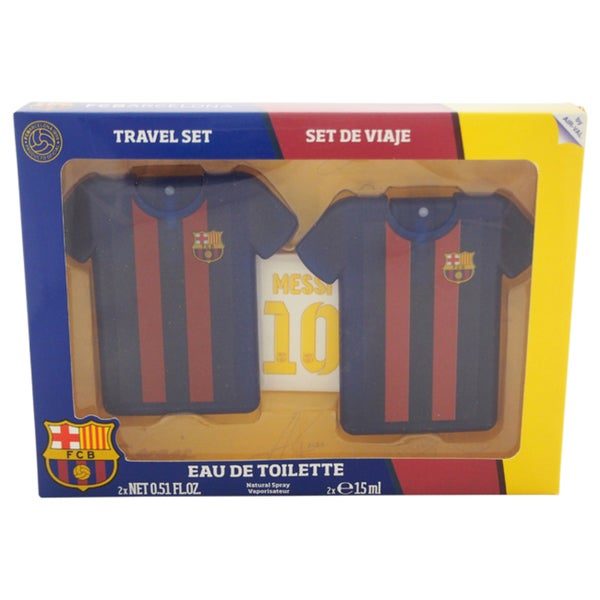 FC Barcelona Men's 3-piece Gift Set