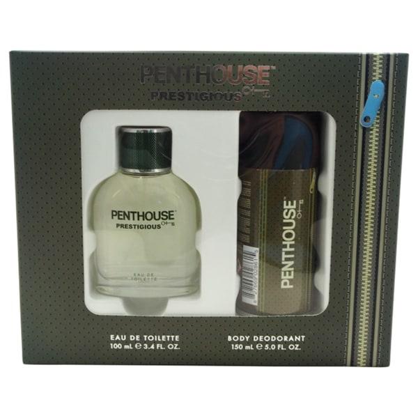 Penthouse Prestigious Men's 2-piece Gift Set