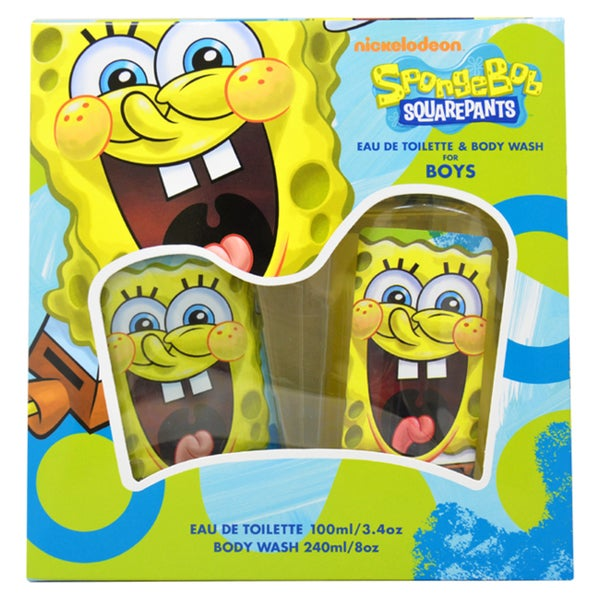 Spongebob Squarepants Boy's 2-piece Gift Set