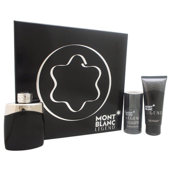 Mont Blanc Legend Men's 3-piece Gift Set