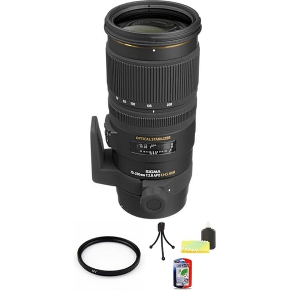 Sigma 70-200mm HSM for Canon Lens Bundle