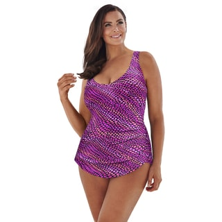 Beach Belle Mermaid Kisses Sarong Front Swimsuit
