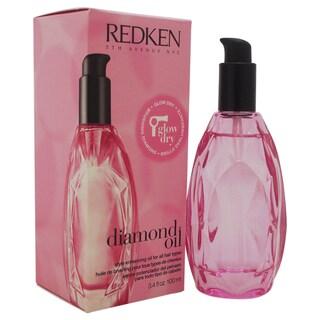 Redken Glow Dry Diamond Oil Style Enhancing 3.4-ounce Oil