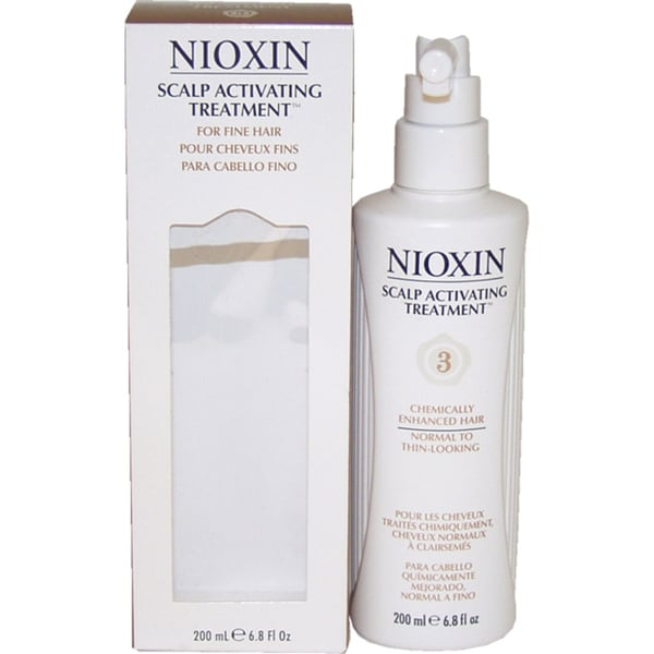 Nioxin System 3 Scalp Activating 6.8-ounce Treatment For Chemically-Treated Fine Noticeably Thin Hair
