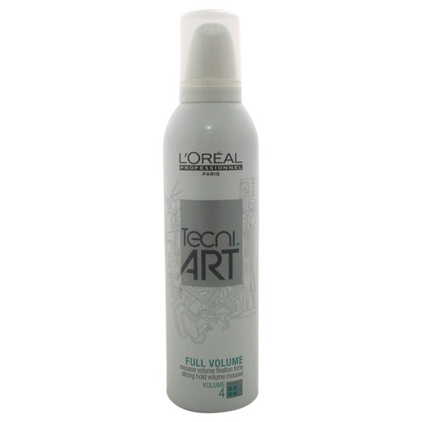 L'Oreal Professional Full Volume Tecni Art Force 4 Strong Hold 8.4-ounce Mousse